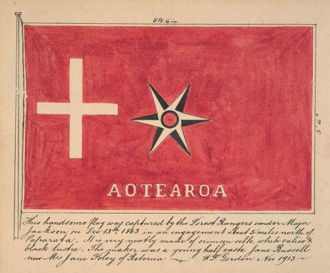 Māori rebel flag: Aotearoa