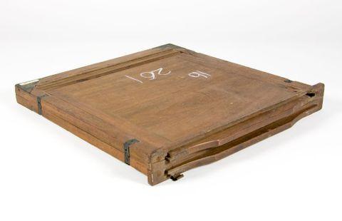 Wooden case - 10x12 film holder