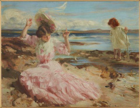 'By summer seas'