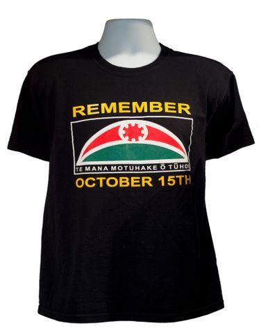 Te Mana Motuhake o Tuhoe t-shirt