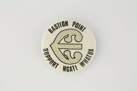 Bastion Point badge